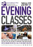 Thumbnail for article : North Highland College UHI Evening Classes 2016