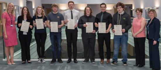 Photograph of Dounreay sponsors employment course
