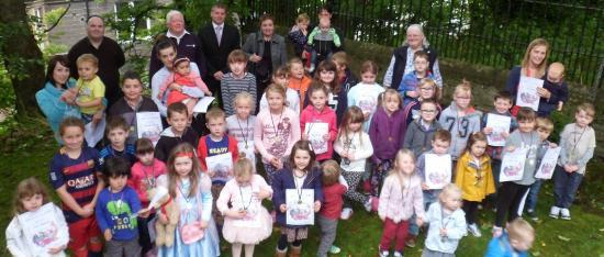 Photograph of Wicks Summer Reading Challenge Certificates Presented