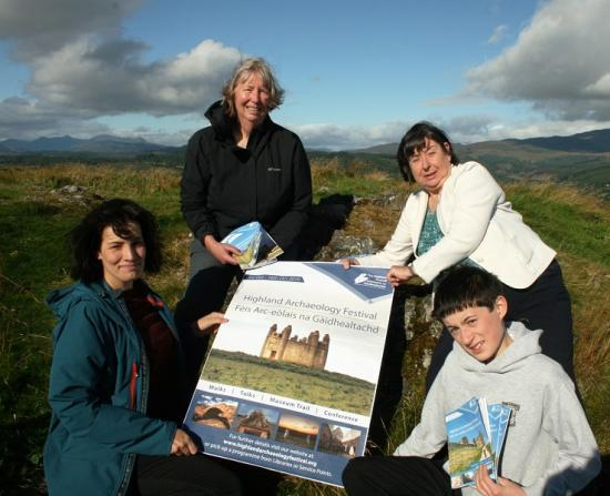 Photograph of Archaeology Festival to showcase historic past of Highlands