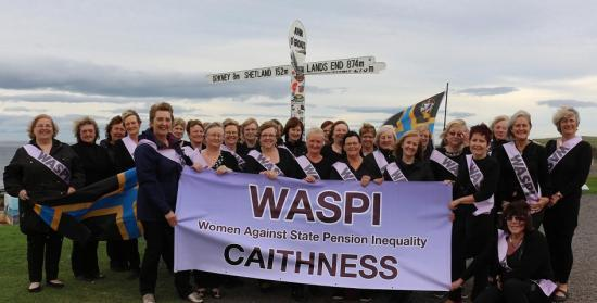 Photograph of Caithness WASPI Group Join Day Of Action