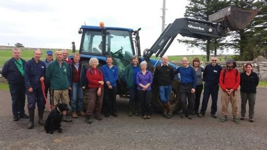 Photograph of Volunteers Improve Access Along the Caithness Coast