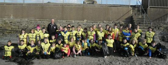 Photograph of Thurso litter busters