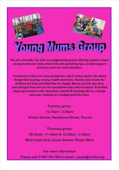 Photograph of Young Mums Group - Thurso and Wick
