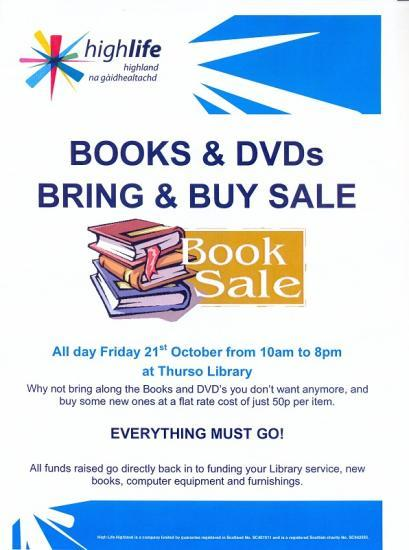 Photograph of Library In Thurso Raising Funds To Improve Its Service