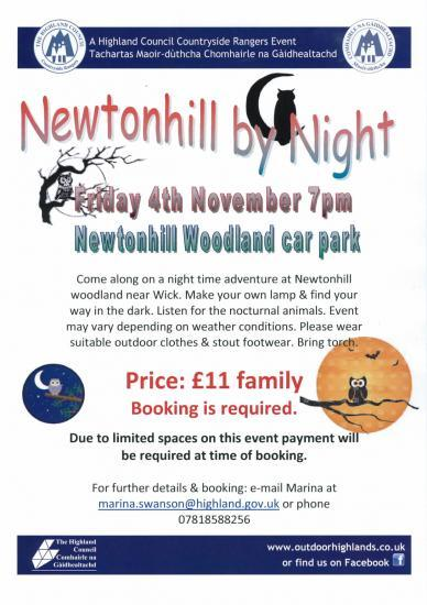 Photograph of Newtonhill By Night - Family Time In the Dark