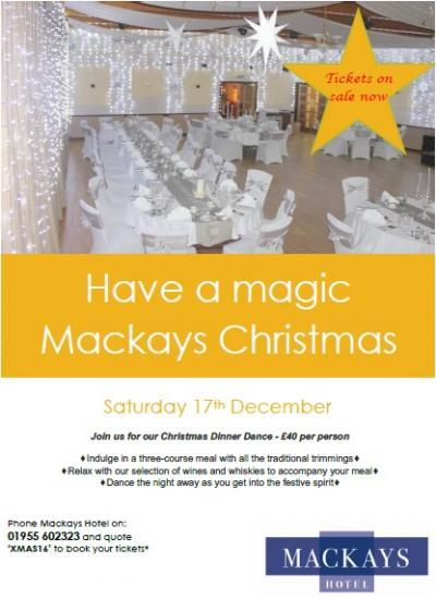 Photograph of Christmas Dance At Mackays Hotel
