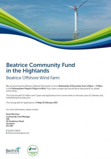 Photograph of Beatrice Community Fund Launch