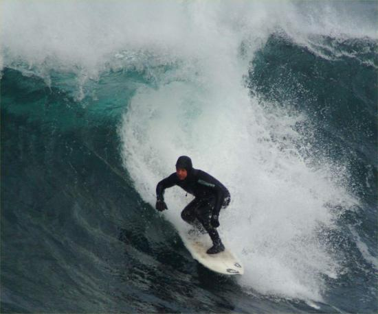 Photograph of A beginner's guide to surfing in winter in Scotland - Scotsman