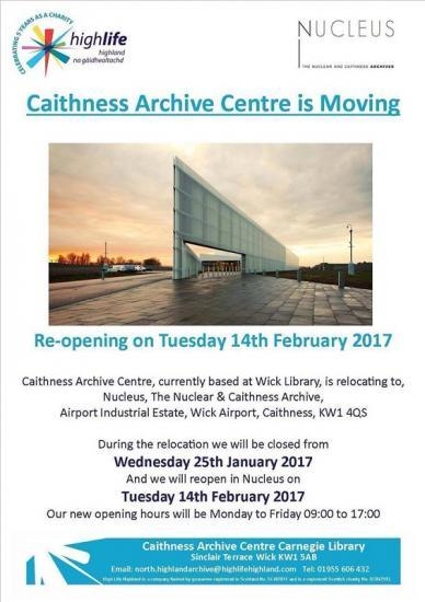 Photograph of Caithness Archive Moving Soon To New Home