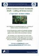 Thumbnail for article : Citizen Science Event: Dunbeath Strath - calling all lichen lovers!