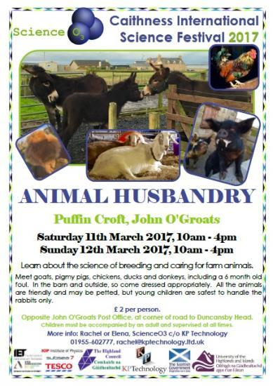 Photograph of Science Festival - Animal Husbandry