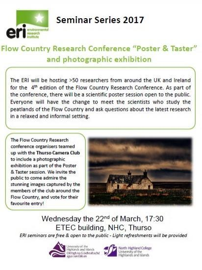 Photograph of Flow Country Photo and Poster Exhibition - Meet The Scientists