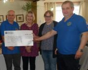 Thumbnail for article : Caithness Model Club Gives £500 to Caithness Befrienders