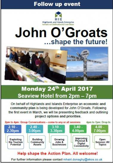 Photograph of John O'Groats Shape The Future - Follow Up Event