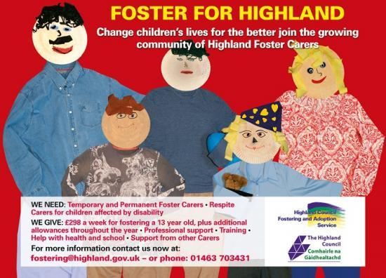 Photograph of This Foster Care Fortnight, could you help transform children's lives in Highland?