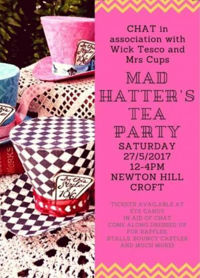Photograph of Mad Hatters Tea Party In Aid Of CHAT