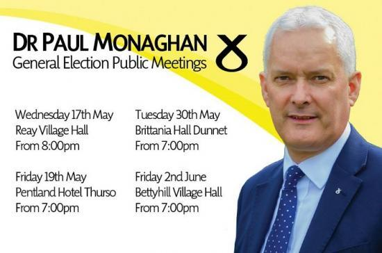 Photograph of Paul Monaghan Public Meetings