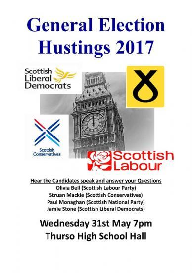 Photograph of General Election 2017 - Hustings In Thurso