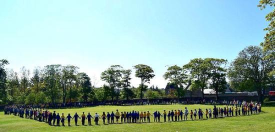Photograph of Highland Council pays respect to lives lost in Manchester - Miller Academy