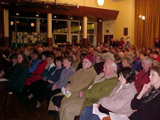 Photograph of Maternity Review - Wick Meeting - MUMS Pull In the Crowds
