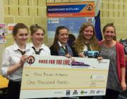 Thumbnail for article : Bloodhound Rocket Car Competition Won By Tain Team