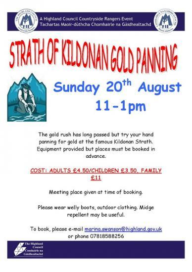 Photograph of Gold Panning Day With Rangers  - You Never Know What You Can Find