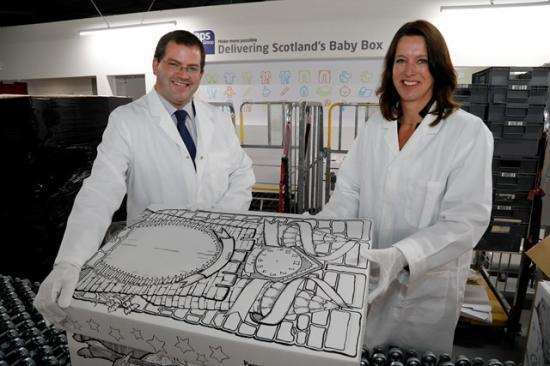 Photograph of Scotland's Baby Box available nationwide