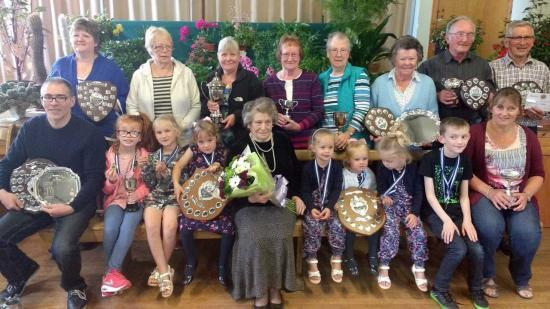 Photograph of Reay and District Gardening Club 40th Horticultural Show 2017