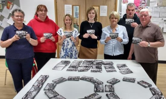 Photograph of CHAT sends first batch of 1,000 protest postcards to First Minister