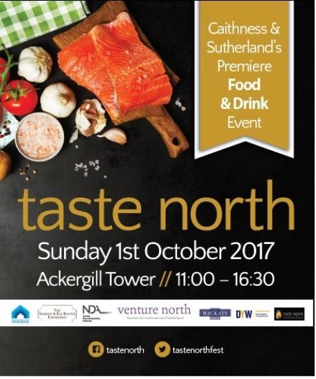 Photograph of Taste North - North Highland's premier food, drink and craft event