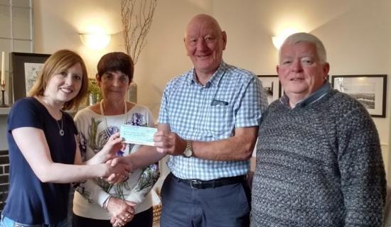 Photograph of 50th Wedding Anniversary Wick Couple Asked Guests To Donate to CHAT