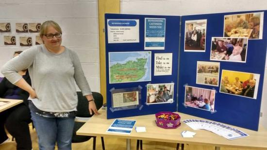 Photograph of Health and Wellbeing Day At Pulteney Centre, Wick