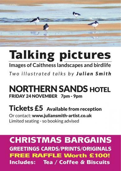 Photograph of Talking Pictures - Images of Caithness Landscapes and Birdlife