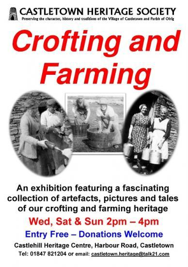 Photograph of Crofting and Farming Exhibition