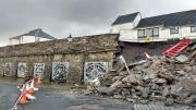 Thumbnail for article : Collapsed Wall At Wick Harbour