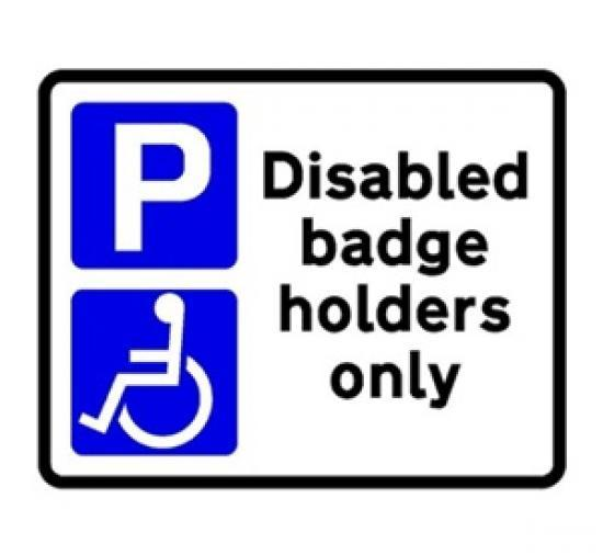 Photograph of PERMANENT EXTENSION TO BLUE BADGE SCHEME CRITERIA