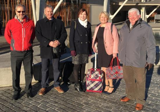 Photograph of Caithness Health Action Team (CHAT) At Scottish Parliament