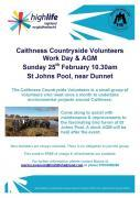 Thumbnail for article : Caithness Countryside Volunteers Work Day and AGM