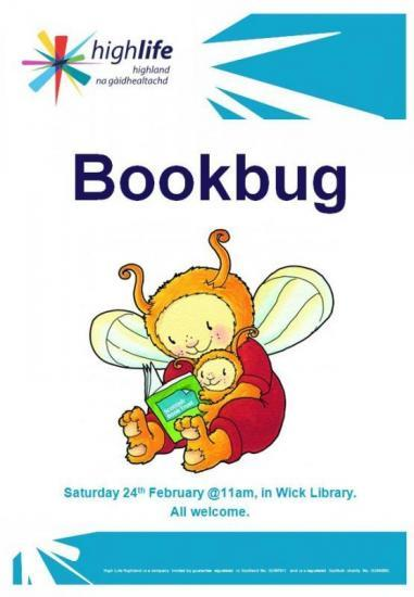 Photograph of Bookbug Session at Wick Library East Caithness Community Facility