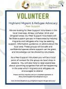 Thumbnail for article : HiMRA - Highland Migrant & Refugee Advocacy - A New Volunteering Opportunity