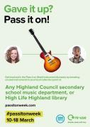 Thumbnail for article : Pass your instrument on!