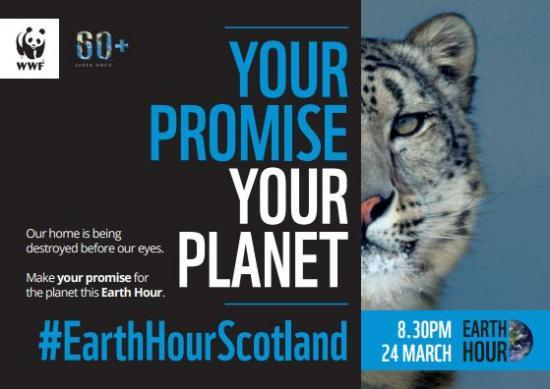 Photograph of How will you celebrate Earth Hour 2018?