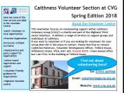 Thumbnail for article : Volunteering Caithness Spring 2018 NewsLetter