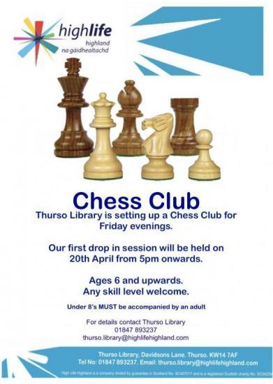 Photograph of New Chess Club Starting Up