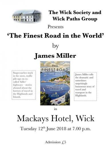 Photograph of The Finest Road In The World - A Talk By James Miller
