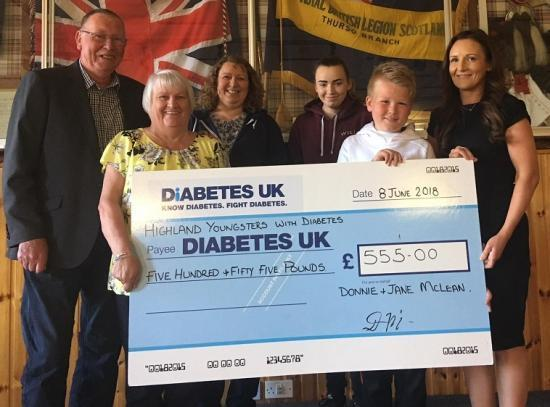 Photograph of Big-hearted couple donates funds raised at their Golden wedding party to local charities