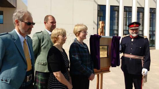 Photograph of Official Opening Of The Wick Community Campus