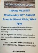 Thumbnail for article : Trinkie Meeting - All Welcome