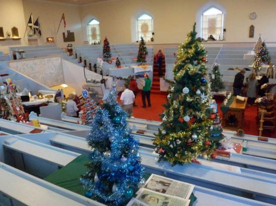 Photograph of Christmas Tree Festival 2018